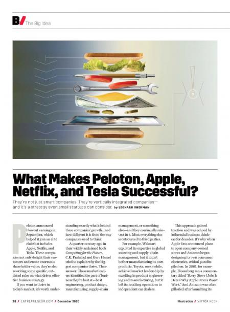 What-Makes-Peloton,-Apple,-Netflix,-and-Tesla-Successful?